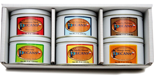 Three-Pound, Six Flavor Gift Box
